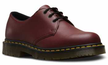 Dr. Martens DMR24381600 1461 Originals, Unisex 1461, Cherry Red, Soft Toe, Slip Resistant Oxford