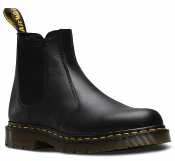 Dr. Martens DMR24383001 Chelsea 2976, Unisex, Black, Twin Gore, Slip Resistant Boot