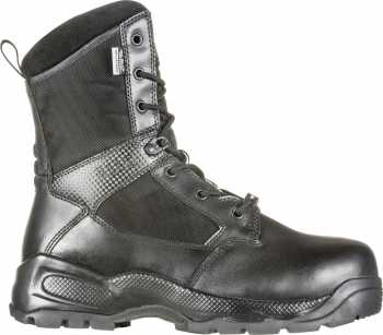 5.11 Tactical FEL12416 2.0 Shield, Men's, Black, Comp Toe, EH, PR, WP, 8 Inch, Zipper Boot