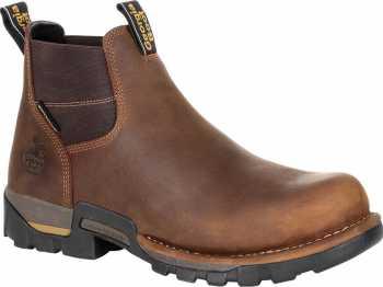 Georgia Boot GAGB00337 Eagle One, Men's, Brown, Steel Toe, EH, WP, Chelsea Boot