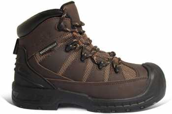 Genuine Grip GGM6300 Trekker, Men's, Brown, Comp Toe, EH, PR, WP Hiker