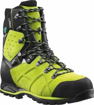 Haix HX603110 Protector Ultra, Men's, Lime Green, Steel Toe, EH, PR, WP, 8 Inch Boot