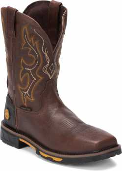 Justin JUWK4625 Joist, Men's, Brown, Comp Toe, EH, WP, 11 Inch, Pull On Boot