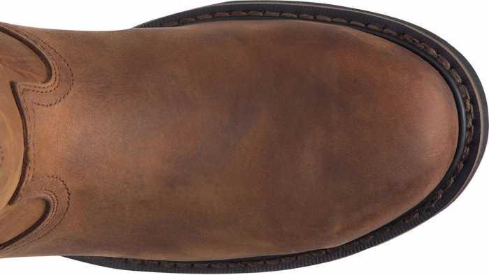 Justin JUWK4961 Drywall, Men's, Brown, Steel Toe, EH, WP, 10 Inch, Pull On Boot