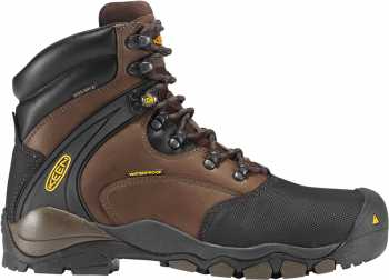 KEEN Utility KN1007965 Men's Louisville Slate/Black, Waterproof, Steel Toe, EH Boot