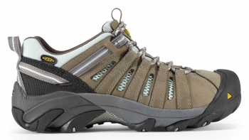 KEEN Utility KN1008823 Women's Flint Low Drizzle/Surf Spray Steel Toe, EH Hiker