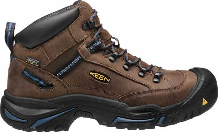 KEEN Utility KN1012771 Braddock, Bison/Ensign Blue, Steel Toe, EH, WP Hiker