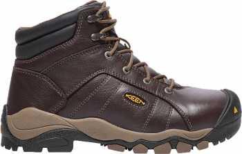 KEEN Utility KN1017820 Santa Fe, Women's, Brown, Aluminum Toe, EH, 6 Inch Boot