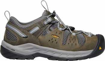 KEEN Utility KN1023220 Atlanta Cool II, Women's, Gargoyle/Blue Fog, Steel Toe, SD Hiker