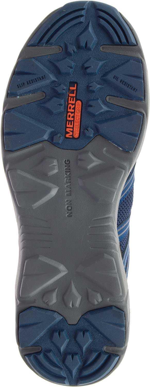 Merrell MLJ17535 Fullbench Superlite, Men's, Blue Wing, Alloy Toe, EH Athletic