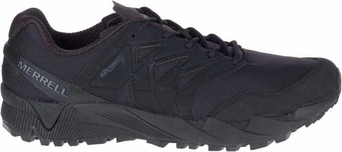 Merrell MLJ17763 Agility Peak Tactical, Men's, Black, Soft Toe, Tactical Shoe