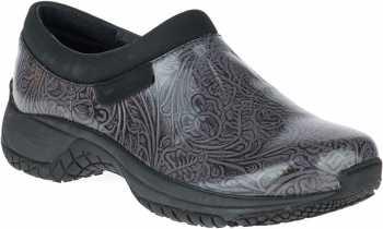 Merrell MLJ25582 Encore Moc Pro, Women's, Charcoal, Slip Resistant Slip On