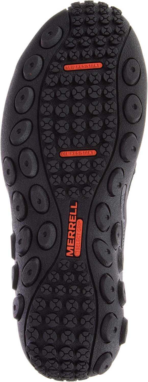 Merrell MLJ62382 Jungle Moc, Women's, Black, Alloy Toe, EH, Casual Slip On