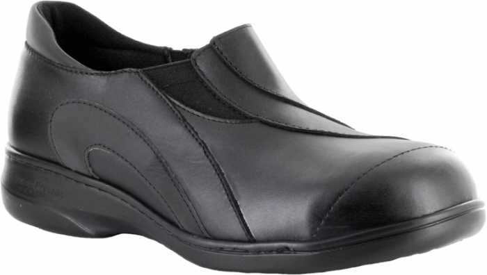 Mellow Walk MW424092 Reflector, Women's, Black, Steel Toe, SD, Casual Oxford
