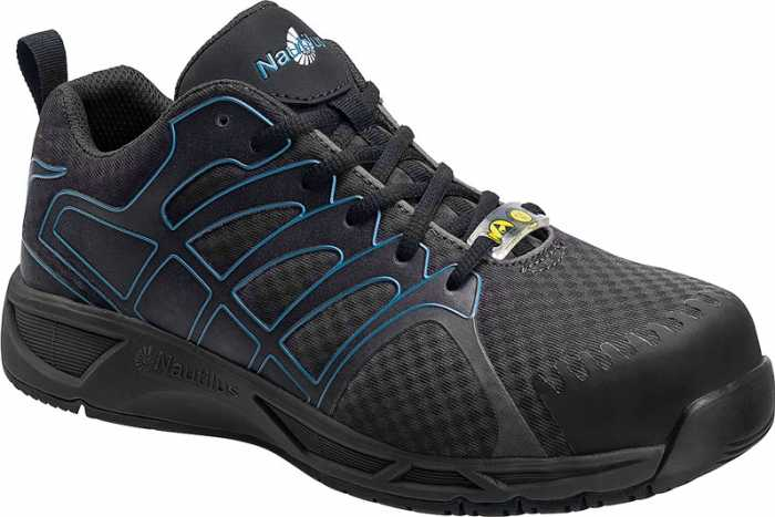 Nautilus N4421 Men's, Black, Soft Toe, SD, Low Athletic