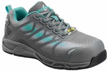 Nautilus N4485 Women's, Grey, Soft Toe, SD, Low Athletic