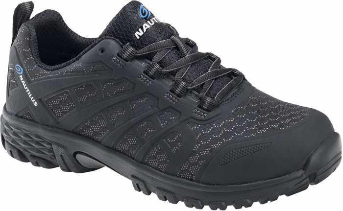 Nautilus N4611 Stratus, Men's, Black, Soft Toe, SD, Slip Resistant Athletic
