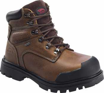 Avenger N7258 Men's, Brown, Steel Toe, EH, PR, WP 6 Inch Boot