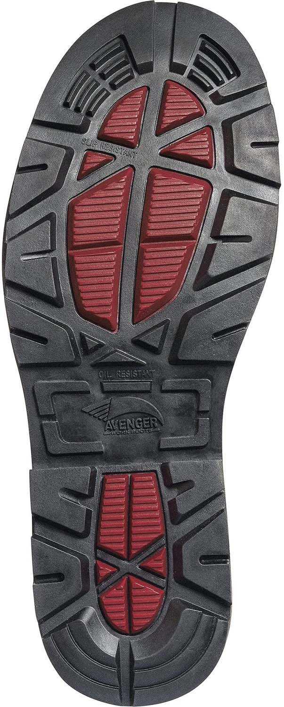 Nautilus/Avenger N7581 Hammer, Men's, Black, Comp Toe, EH, PR, WP, 6 Inch Boot