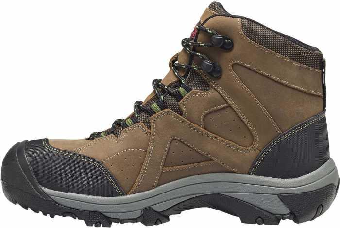 Nautilus/Avenger N7710 Crosscut, Men's, Brown, Steel Toe, EH, PR, WP, 6 Inch Boot