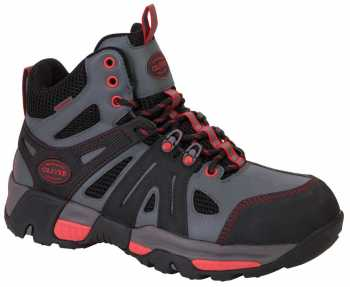 Oliver OL11113 Men's Grey/Red, Steel Toe, EH, PR, Waterproof Hiker