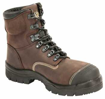 Oliver OL55231 Men's Brown, Steel Toe, SD, 6 Inch Workboot