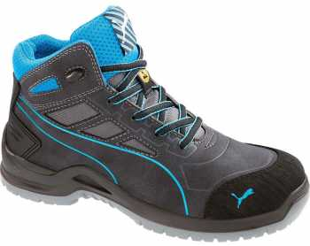 Puma PU634055 Women's, Beryll Blue, Steel Toe, SD, Mid High