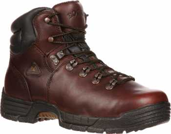 Rocky 6114 Men's Brown Leather, Steel Toe, EH Hiker