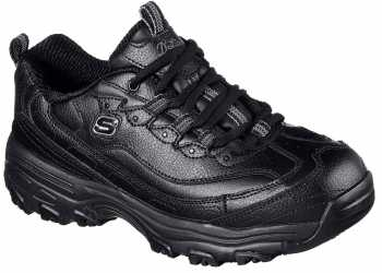 SKECHERS Work SK76605BLK Marbleton, Women's, Black, Soft Toe, Slip Resistant Athletic