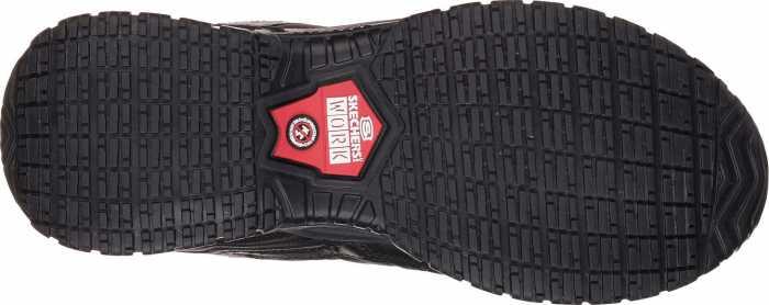 Skechers SK77042BK Soft Stride-Mavin, Men's, Black, Soft Toe, EH, Athletic Work Oxford