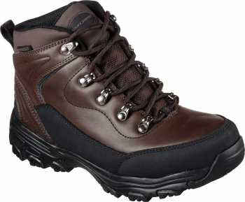 Skechers SK77223CDB Chitina, Women's, Brown, Soft Toe, EH, WP Hiker