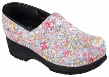 Skechers SK77227MULT Work Clog, Women's, Multi Color, Soft Toe Clog