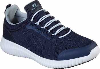 Skechers SK77260NVY Cessnock-Carrboro, Women's, Navy, Soft Toe, Low Athletic