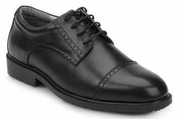 SR Max SRM3020 Augusta, Men's, Black, Dress Style Soft Toe Slip Resistant Work Shoe