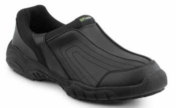 SR Max SRM1400 Charlotte Men's Black Slip Resistant Slip On Casual