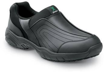 SR Max SRM140 Charlotte, Women's, Black, Athletic Slip On Style Slip Resistant Soft Toe Work Shoe