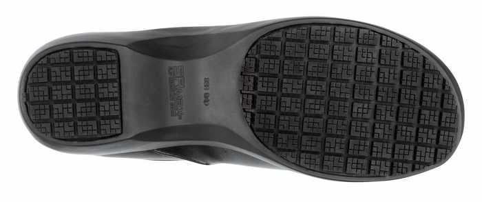 SR Max SRM132 Geneva Black, Women's, Clog Style Slip Resistant Soft Toe Work Shoe