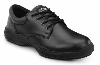 SR Max SRM1800 Providence, Men's, Black, Oxford Style Slip Resistant Soft Toe Work Shoe
