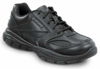 Reebok Work SRB1020 Senexis, Black, Men's Athletic Style Slip Resistant Soft Toe Work Shoe