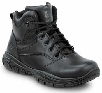 Reebok Work SRB1250 Senexis, Black, Men's Hi Top Athletic Style Slip Resistant Soft Toe Work Shoe