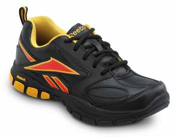 Reebok SRB131 Black/Yellow, Soft Toe, SR, Women's Senexis MaxTrax Athletic