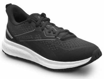 Reebok Work SRB334 Floatride Energy, Women's, Black/White, Athletic Style Slip Resistant Soft Toe Work Shoe