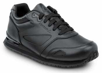 Reebok Work SRB970 Prelaris, Black, Women's, Jogger Style Slip Resistant Soft Toe Work Shoe