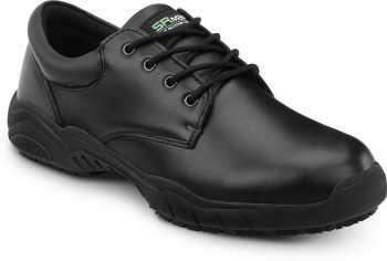 SR Max SRM1900 Brockton, Men's, Black, Oxford Style Slip Resistant Soft Toe Work Shoe