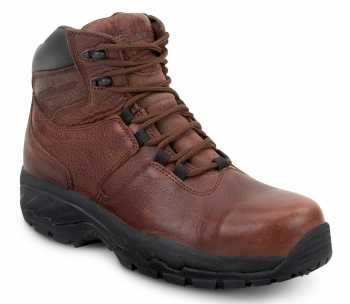 SR Max SRM2610 Kobuk Men's, Slip Resistant, Waterproof, Soft Toe, Brown Hiker