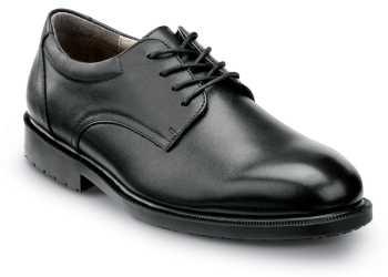 SR Max SRM3500 Arlington, Men's, Black, Dress Style Soft Toe Slip Resistant Work Shoe