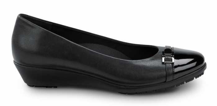 SR Max SRM525 Isabela, Women's, Black, Wedge Dress Style Soft Toe Slip Resistant Work Shoe