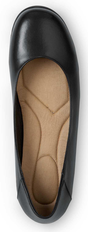 SR Max SRM540 Asheville, Women's, Black, Dress Flat Style Soft Toe Slip Resistant Work Shoe