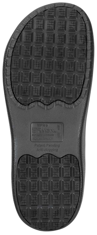 SR Max SRM770 Manteo Women's, Black EVA Clog Style Soft Toe Waterproof Slip Resistant Work Shoe