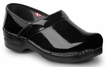 Sanita SSA7876B Stella, Women's, Black, Soft Toe, Slip Resistant Clog